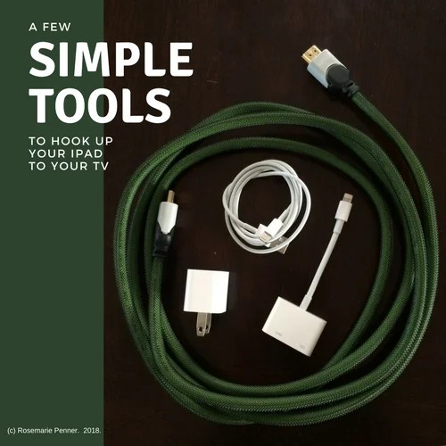A Few Simple Tools to Hook Up Your iPad to Your TV (small)