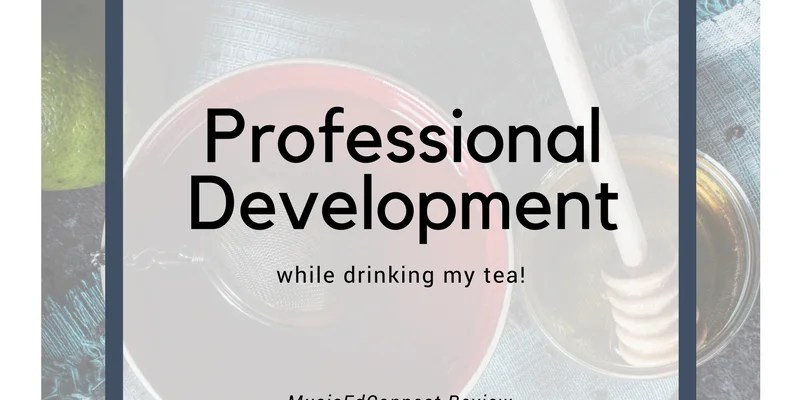 Professional development while drinking my tea!