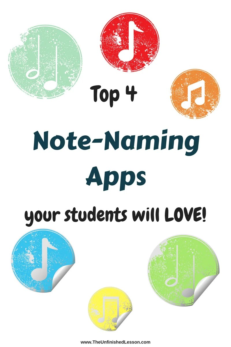 Top 4 Note-Reading Apps Your Students Will LOVE