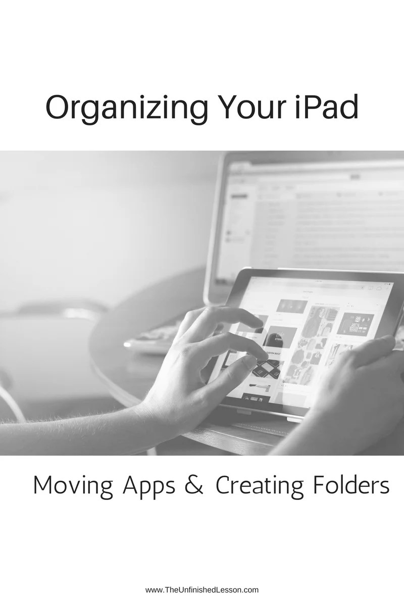 Moving apps & creating folders