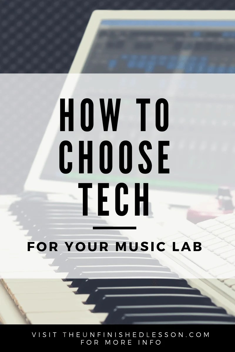 How to Choose Tech for Your Music Lab