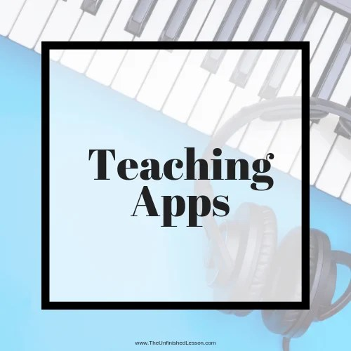 Click here to see the best teaching apps for your studio!