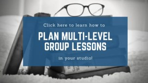 How to Plan Multi-Level Group Lessons