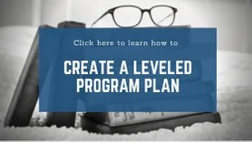 How to create a leveled program plan for your studio!