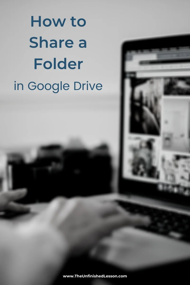 How to Share a Folder in Google Drive