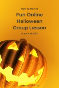 How to Host a Fun Online Halloween Group Lesson
