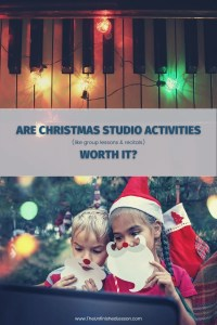 Are Christmas Activities Worth It?