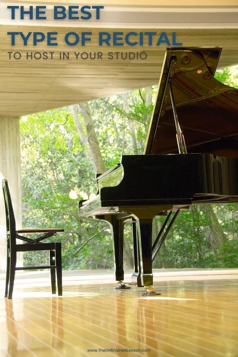 The Best Type of Recital to Host in Your Studio