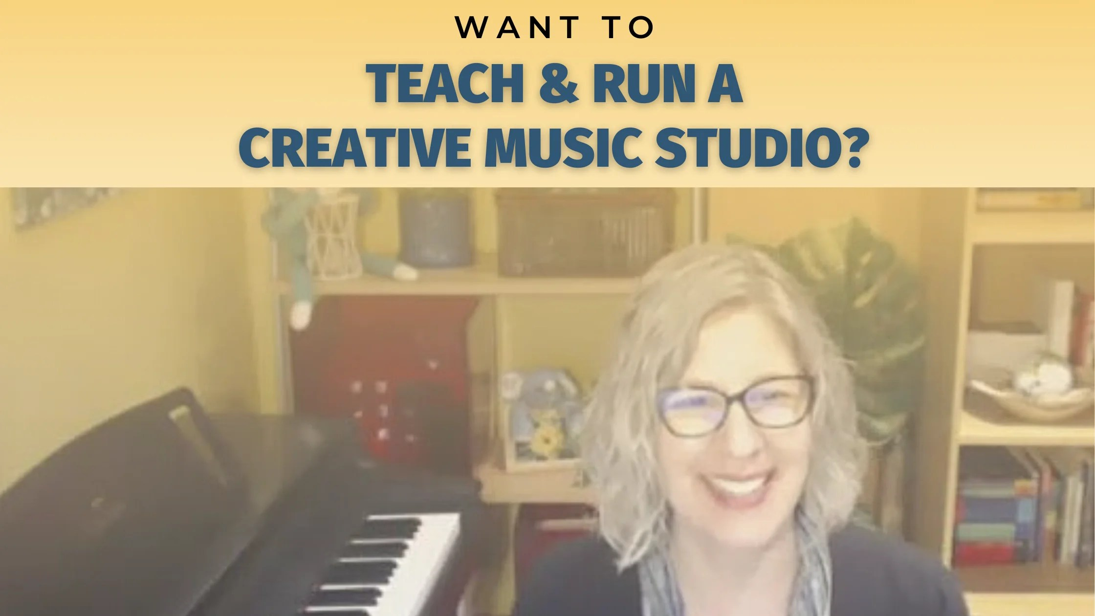Want to teach & run a creative music studio without sacrificing your personal life?
