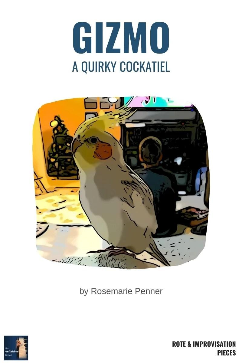 Gizmo: A Quirky Cockatiel