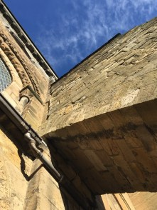 Dunfermline abbey buttresses