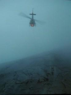 Rescuers attempting to reach me thru cloud coverage