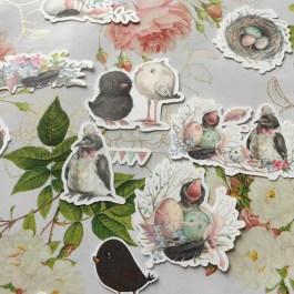 Die Cut Birds