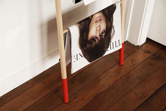Zoe Ikin magazine rack