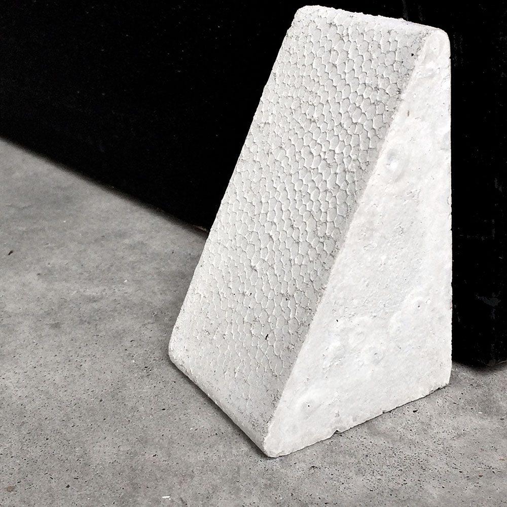 concrete bookend doorstop