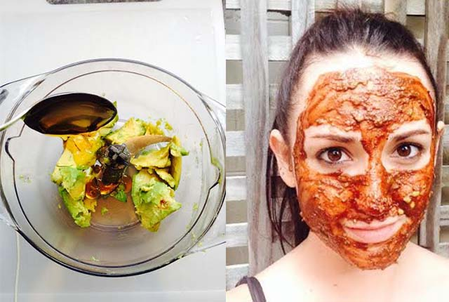 Avocado Facemask