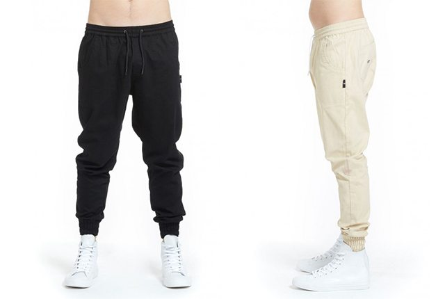 illab Drop Crotch Pants