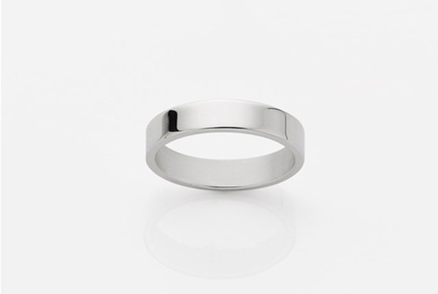 medowlark 3mm-band-silver
