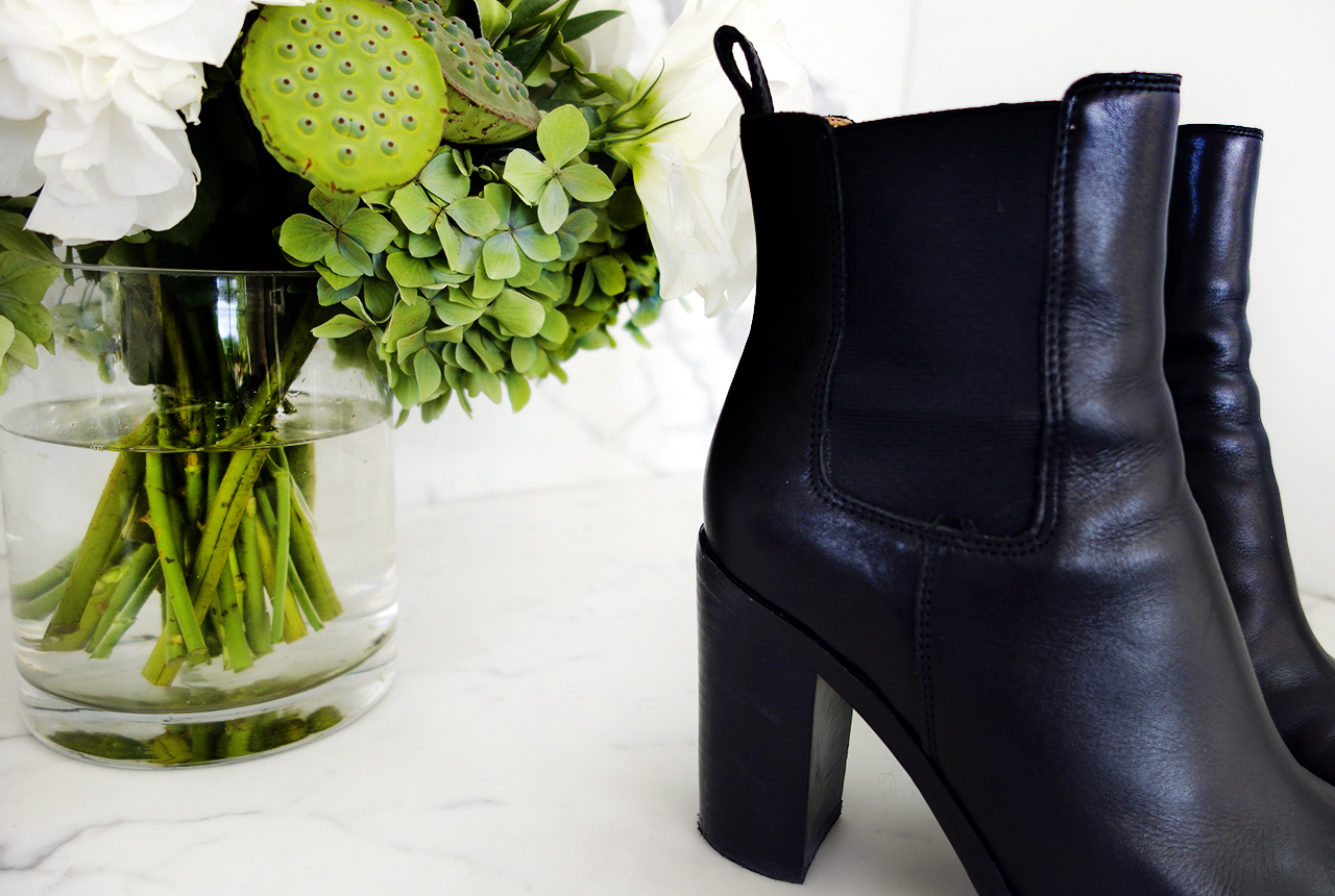 tony bianco Jorji blank ankle boots with elastic gussets 2