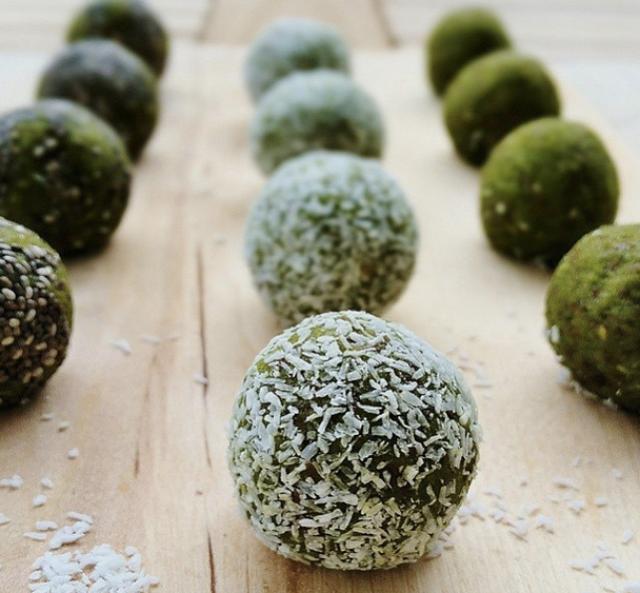 @urbanraw_inspo matcha maiden raw matcha green tea balls