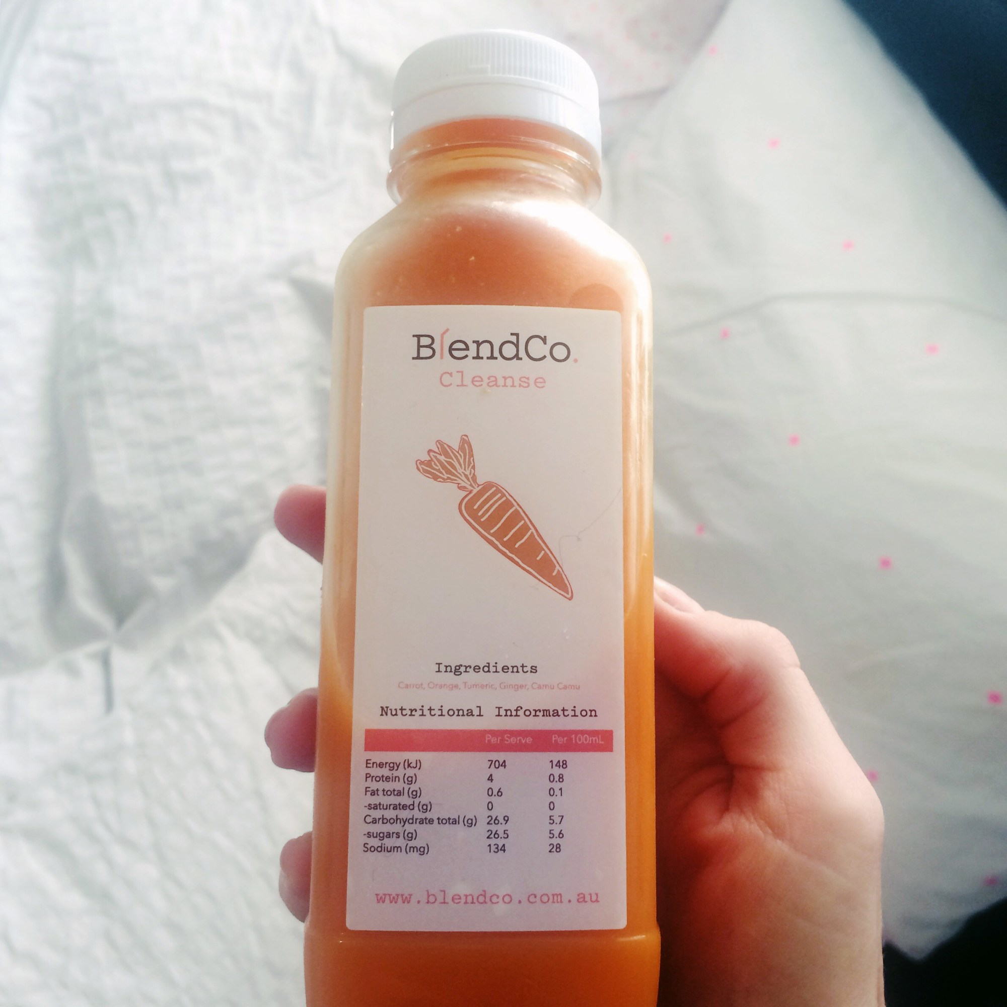 blendco cold pressed 3 day detox juice cleanse melbourne carrot