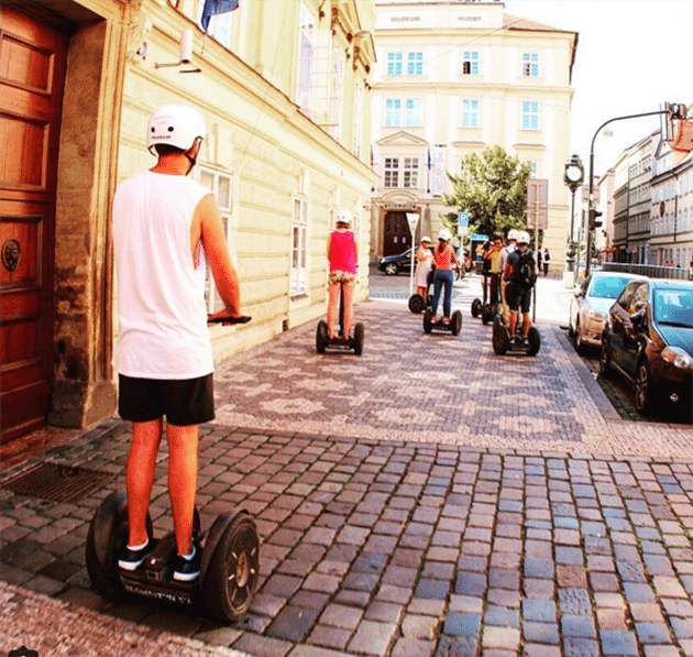 prague what to do segway tour tourist