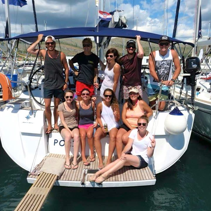 MedSailors Disembark Porin Crew