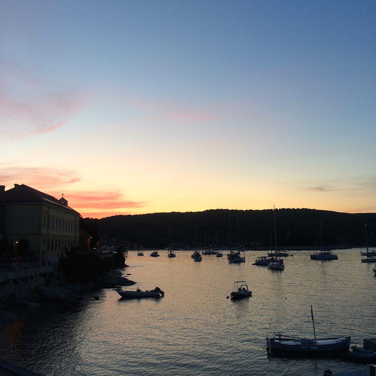 MedSailors Vis Sunset Croatia