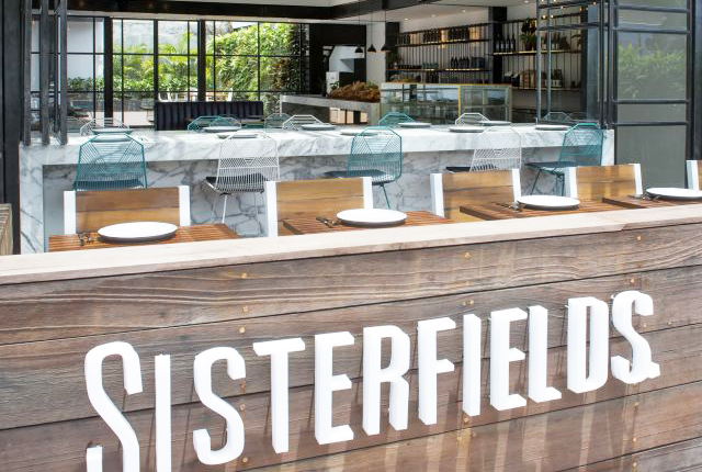 Sisterfields best restaurant in Seminyak Bali