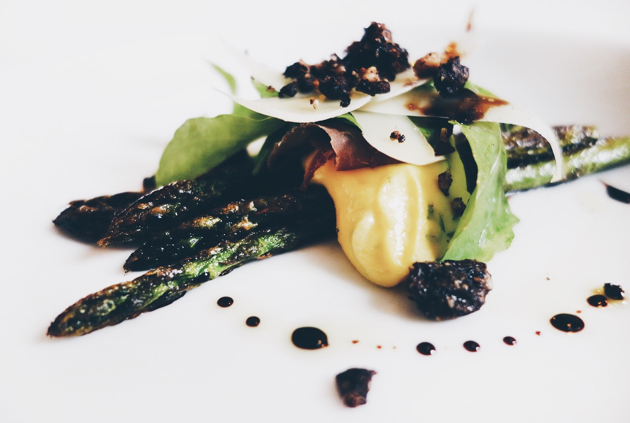 Logan Brown Wellington New Zealands Best Restaurant Bistro Menu Roasted Asparagus
