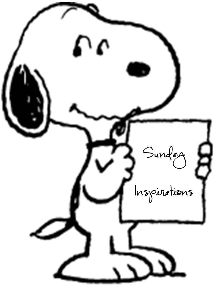 Sunday Inspirations: Snoopy to the Rescue