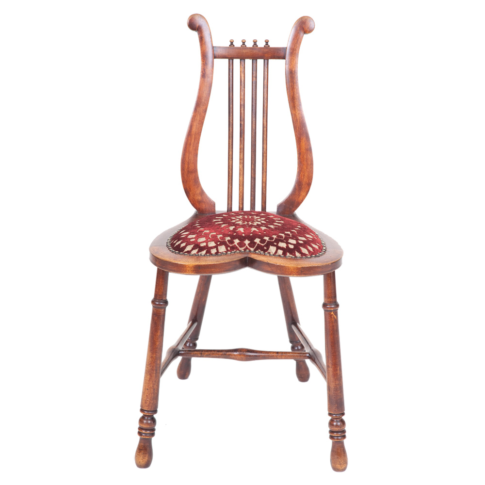 Lyre Back Occasional Chair  The Unique Seat Company