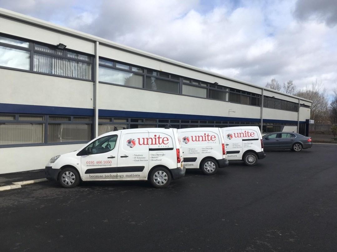 the unite group vans