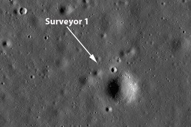 The Universe - Surveyor Mission to the Moon