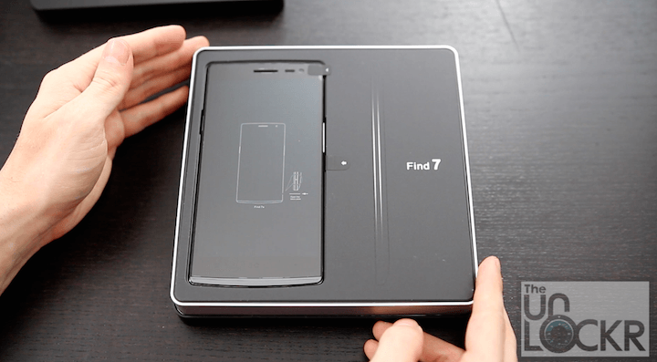 Oppo Find 7a Unboxing