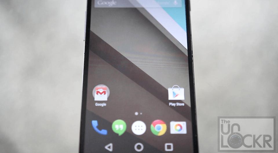 Android L on Nexus 5