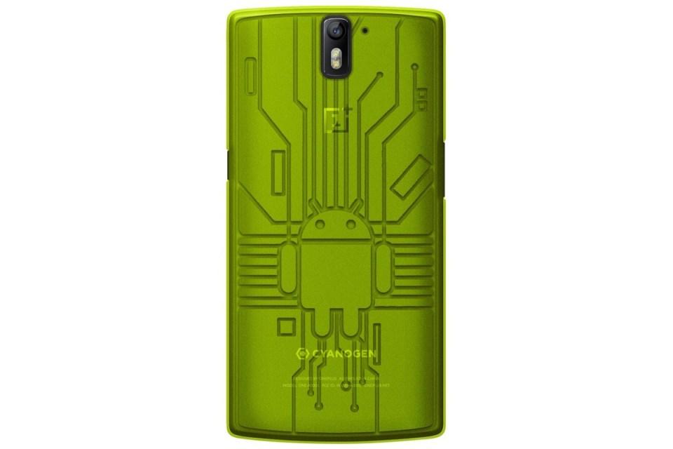 OnePlus One Bugdroid