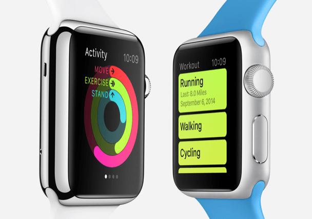 Apple Watch Health Screen