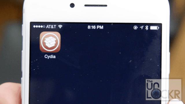Cydia on iOS 8.4