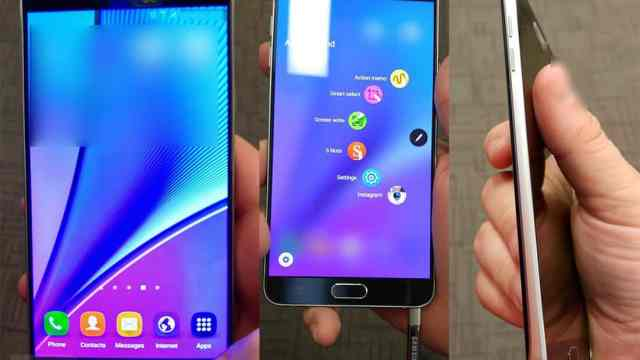 The Galaxy Note 5
