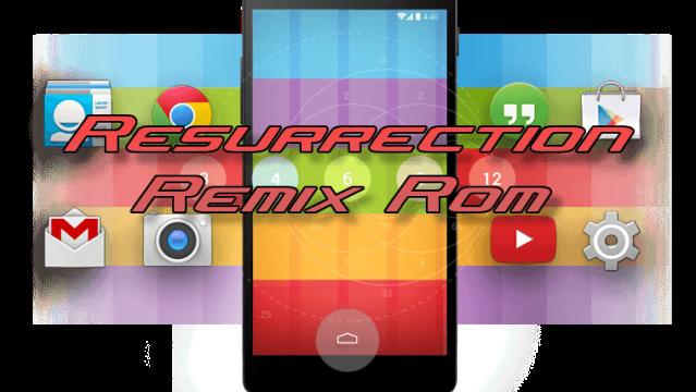 Resurrection Remix MM v5.7.4 ROM