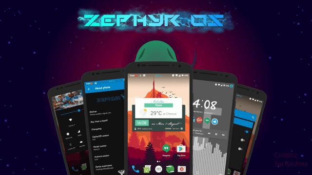 Zephyr-OS v6.1 ROM