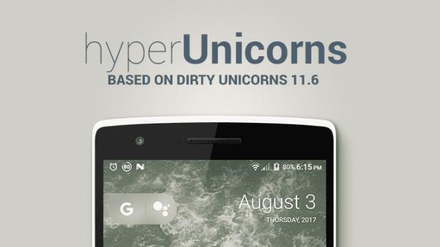 hyperUnicorns - Optimized Dirty Unicorns