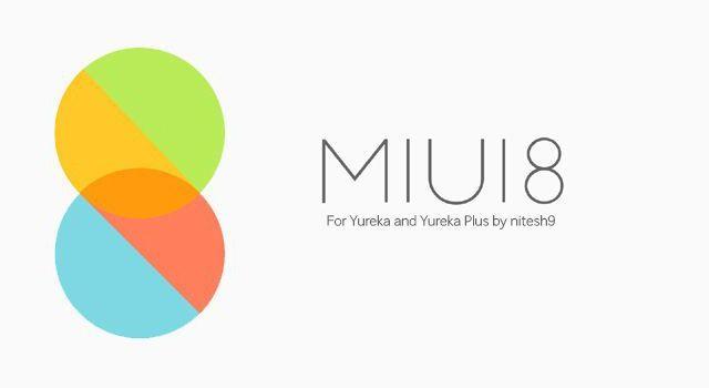 MIUI 8 Marshmallow