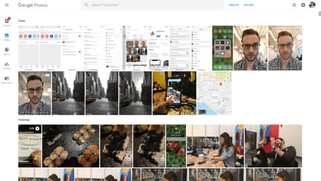 Google Photos in Browser