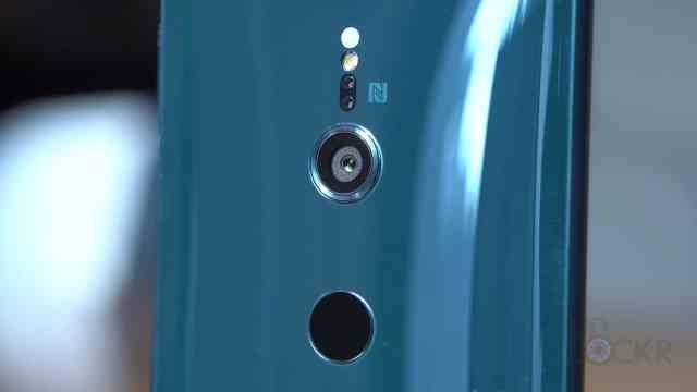 Camera on Sony XZ2