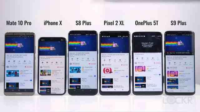 S9 Plus vs Flagships