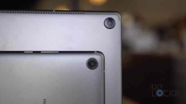 Cameras on MediaPad M5