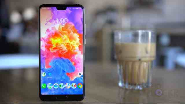 P20 Screen with Latte