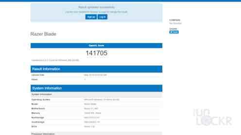 Geekbench 4 OpenCL Score